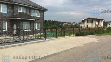 Ажурный забор и ворота
